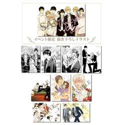 【グッズ】オオヒラヨウ先生_イラストカード10周年記念セット