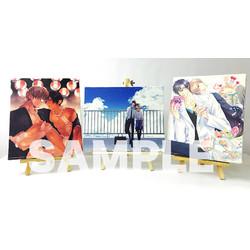 【グッズ】篠崎マイ先生「いつかの恋と夏の果て」キャンバスアート