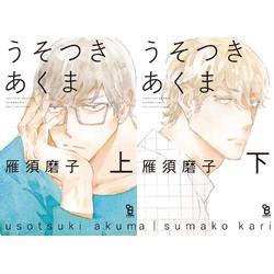 雁須磨子先生「うそつきあくま(上)」「うそつきあくま(下)」2冊セット★2冊同時購入特典付き★