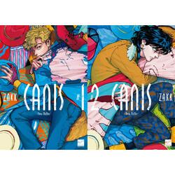 ZAKK先生「CANIS-Dear Hatter-(1)」「CANIS-Dear Hatter-(2)」2冊セット★2冊同時購入特典付き★